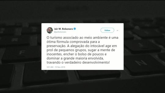 Bolsonaro cancela agenda com os presidentes da Câmara e do Senado