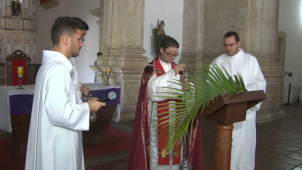Padre Rui da Silva Braga — Foto: TV Cabo Branco/Reprodução