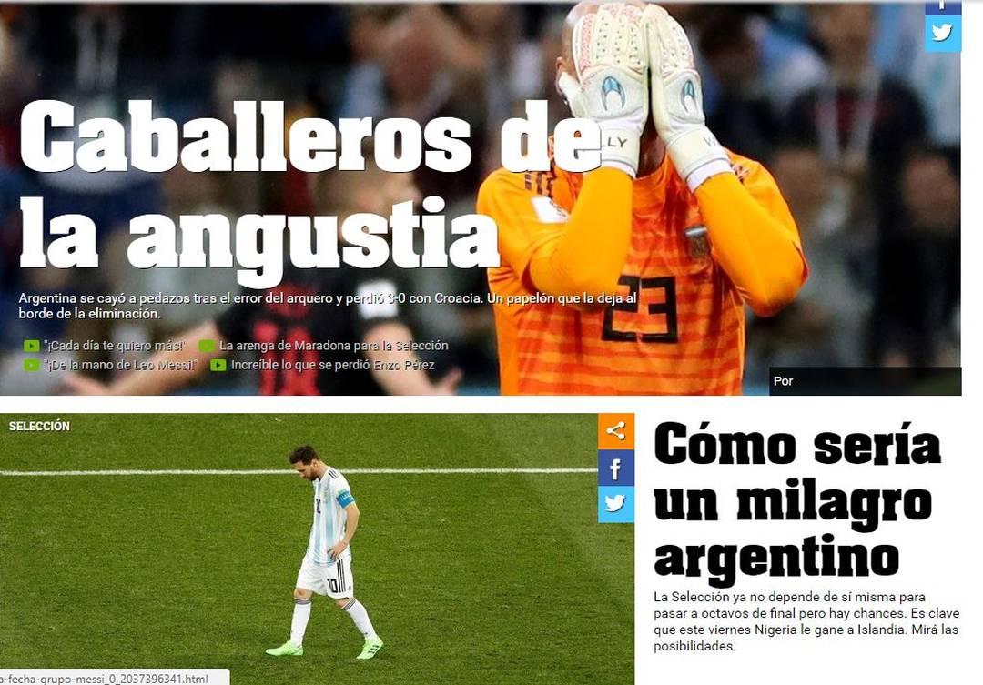 Olé Argentina x Croácia