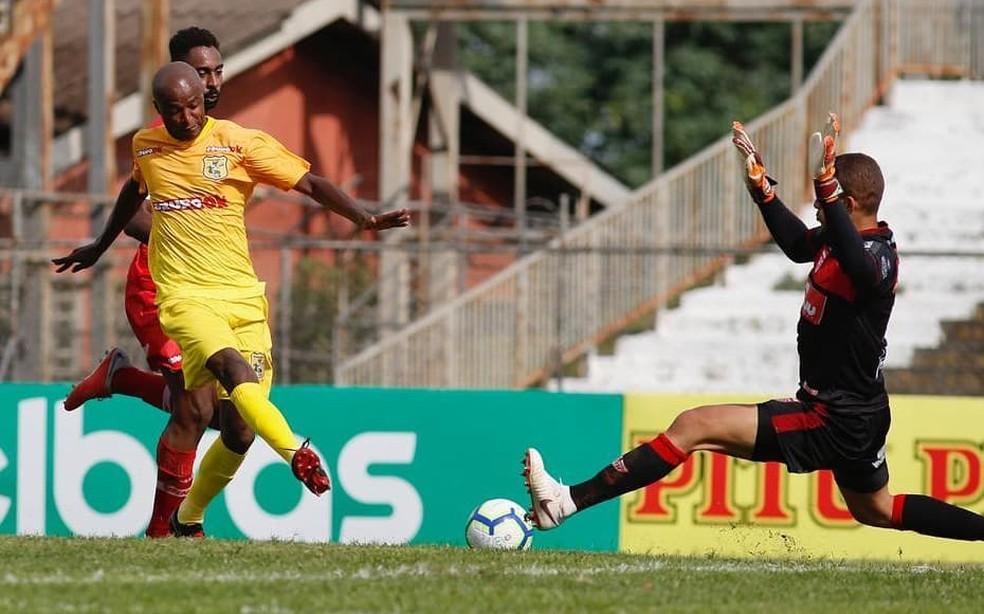 CRB empatou com o Brasiliense e avançou na Copa do Brasil — Foto: Igo Estrela/Metropoles.com