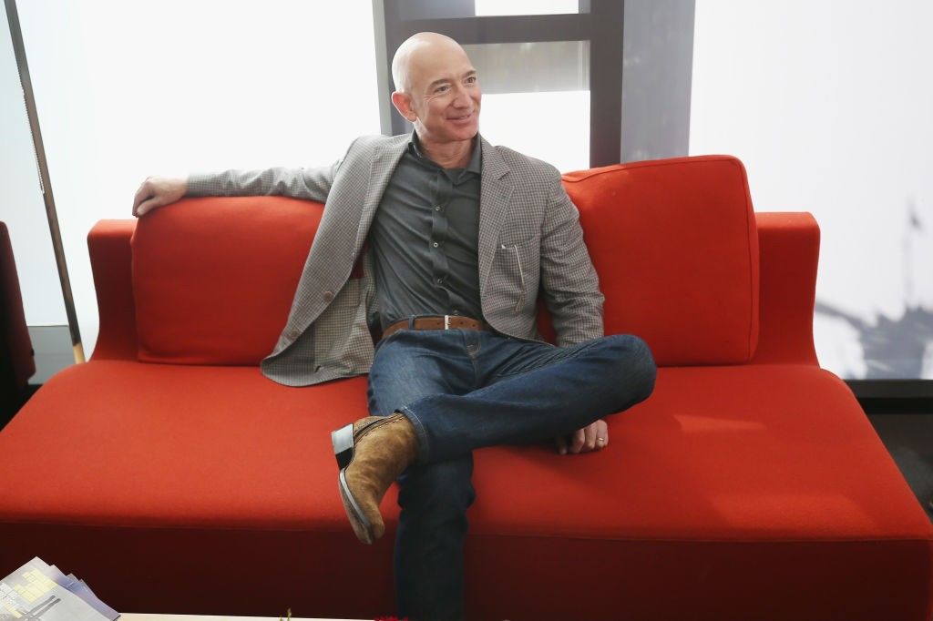 SAN FRANCISCO, CA - OCTOBER 15:  Jeff Bezos attends WIRED25 Summit: WIRED Celebrates 25th Anniversary With Tech Icons Of The Past & Future on October 15, 2018 in San Francisco, California.  (Photo by Phillip Faraone/Getty Images for WIRED25  ) (Foto: Getty Images for WIRED25)