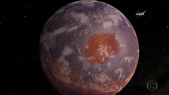 Nasa encontra material orgânico em Marte que pode ser evidência de vida no passado