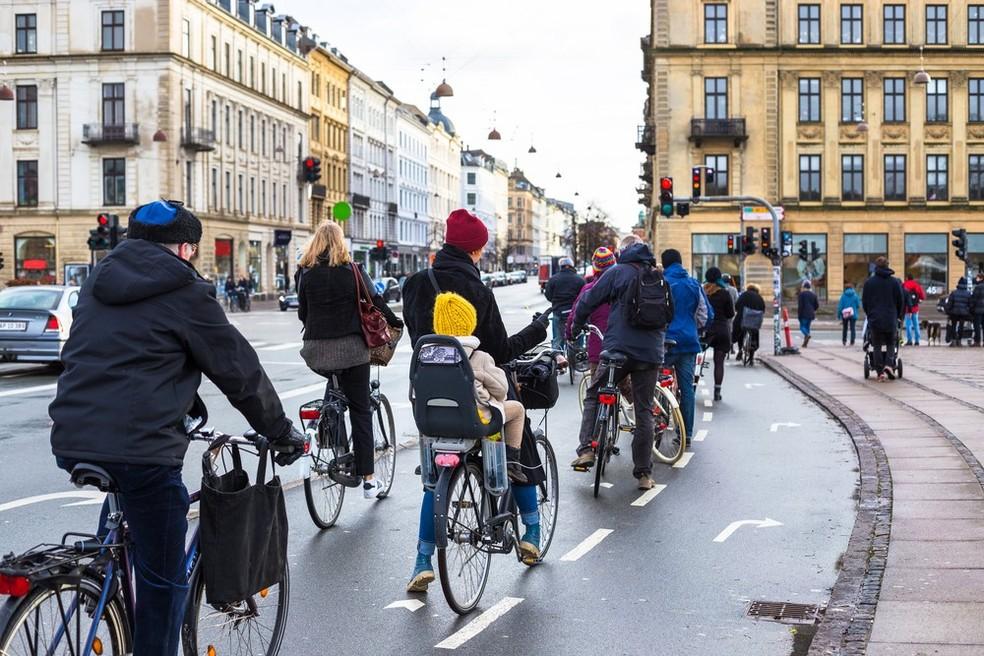 Copenhague, na Dinamarca (Foto: Divulgação)