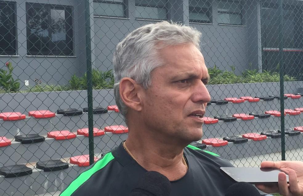 Reinaldo Rueda treinava o Atlético Nacional (Foto: Jorge Natan)