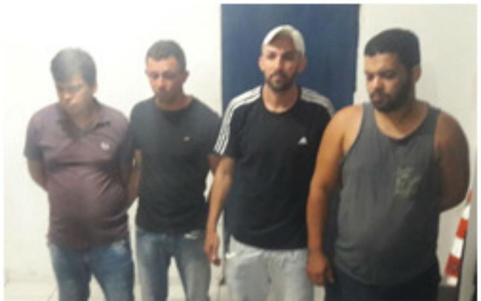 Suspeitos foram presos em Petrolina (Foto: Divulgação/SSP)