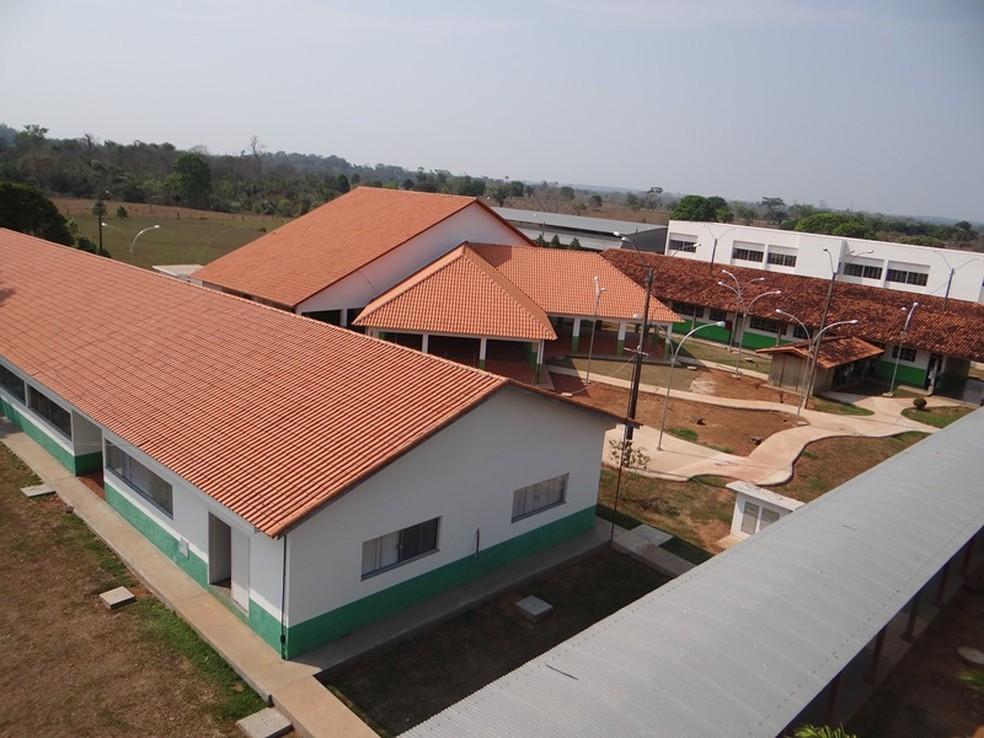 Campus do Ifro em Cacoal compõe estrutura do instituto — Foto: Ifro/ Divulgação