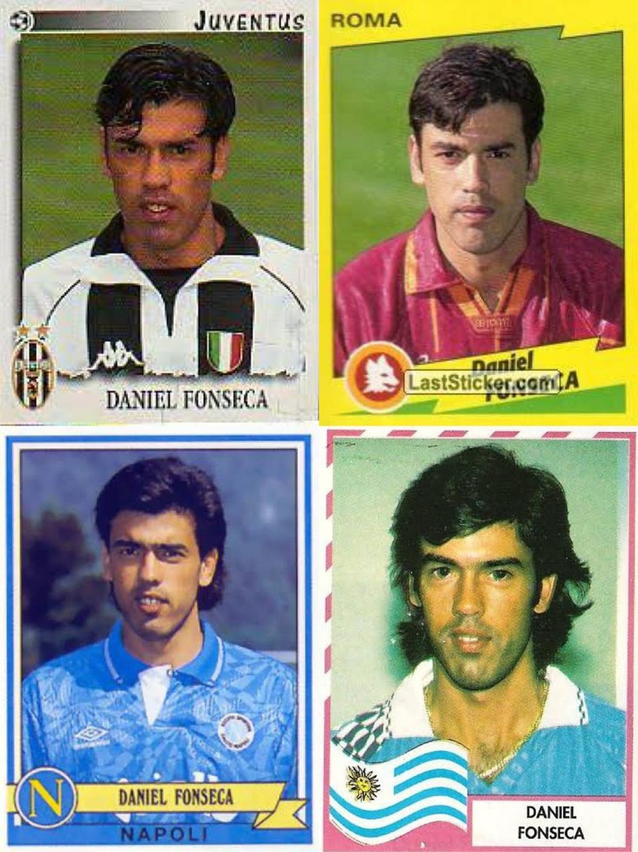 Empresário de Arrascaeta, Fonseca foi atacante que fez sucesso na Itália — Foto: Reprodução