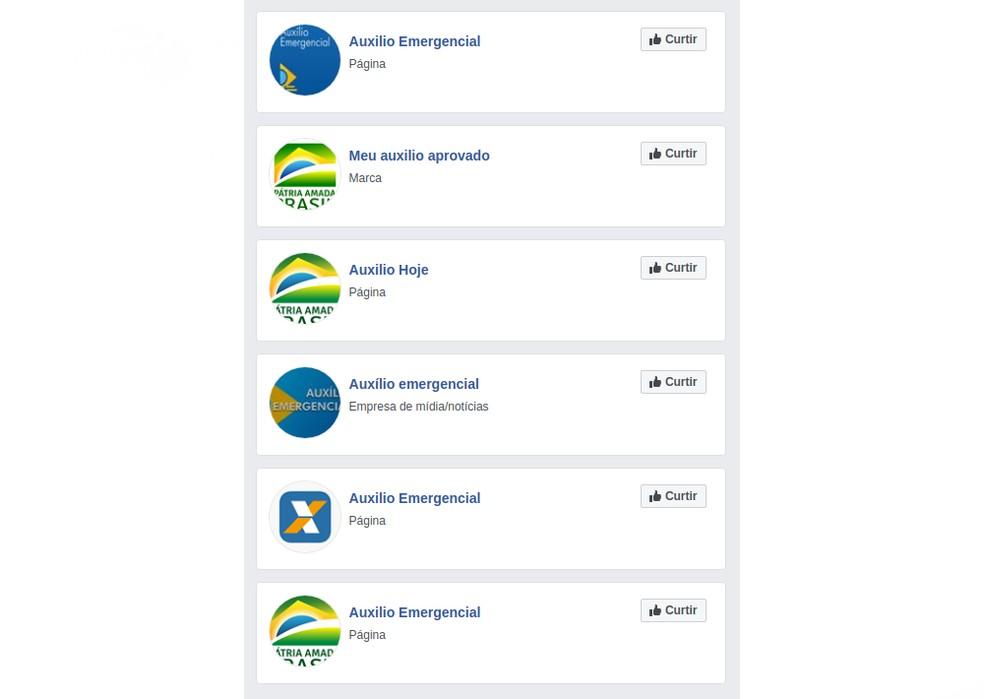 Perfis fakes do governo no Facebook e Instagram enganam mais de 345 mil — Foto: Divulgação/dfndr lab