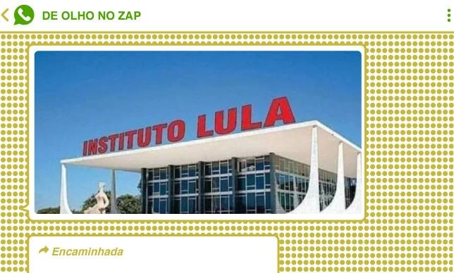 Montagem que circulou em grupos bolsonaristas ironizou decisão de Fachin que anulou condenações de Lula nos processos conduzidos pela 13ª Vara Federal de Curitiba, responsável pela Operação Lava-Jato