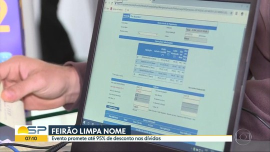 Feirão para limpar nome em São Paulo reúne empresas de telefonia, bancos e financeiras