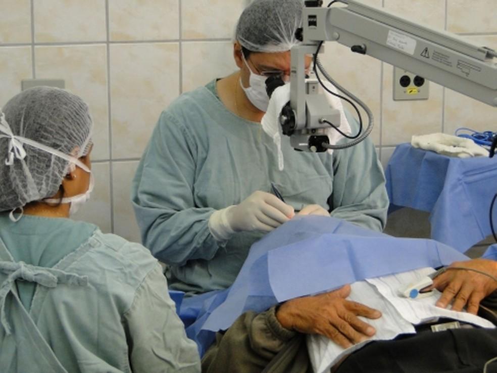 Prefeitura de Varginha (MG) abriu inscrições para moradores da cidade e região que queiram fazer cirurgia de catarata (Foto: Divulgação / Prefeitura Municipal de Varginha)