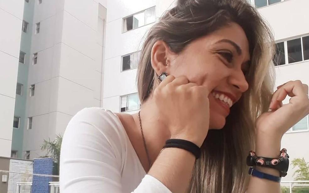 Katiusce Ferreira Rezende reagiu a assalto após sair da academia, em Goiânia, Goiás — Foto: Reprodução/ Facebook