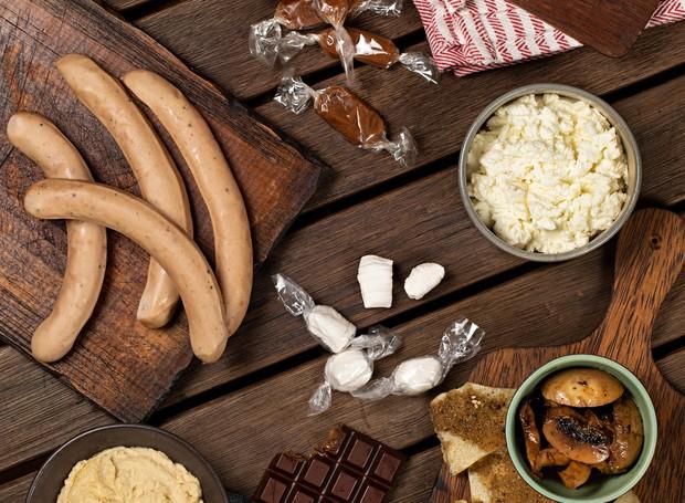 As cestas do Prosa na Cozinha são recheadas de salgados e doces, para comer em qualquer refeição (Foto: Divulgação)