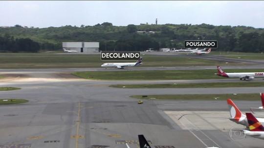 Aeroporto de Guarulhos passa a realizar pousos e decolagens simultâneas