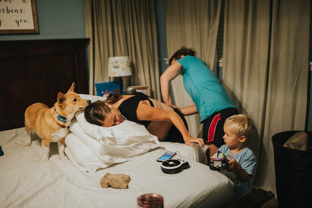 Ranger e família (Foto: Kristin Ann Photography)