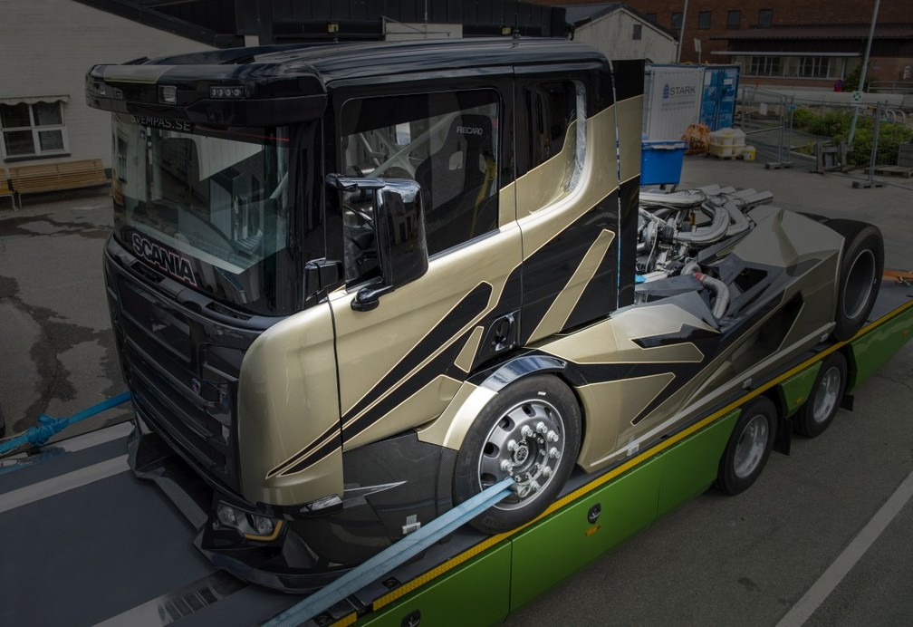 Caminhão da preparadora Svempas (Foto: Divulgação/Svempas)