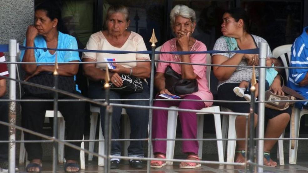 Migração em massa elevou proporção de domicílios chefiados por mulheres — Foto: Getty Images via BBC