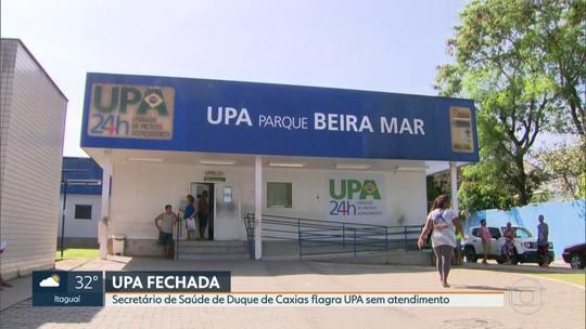 Prefeito de Duque de Caxias demite funcionários que dormiam em UPA no plantão da madrugada