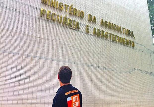 Sede do Ministério da Agricultura, em Brasília (Foto: Reprodução/Facebook)
