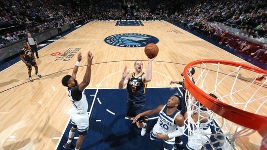 Melhores momentos de Utah Jazz 103 x 95 Minnesota Timberwolves pela NBA