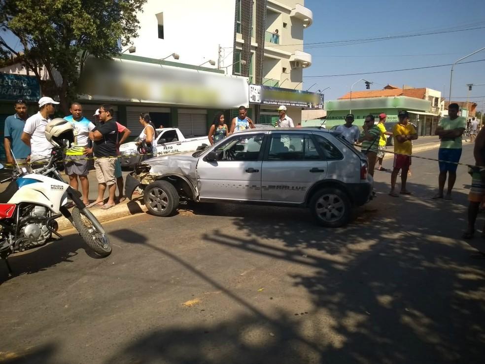 Motorista embriagado conduzia carro de passeio — Foto: PM/Divulgação