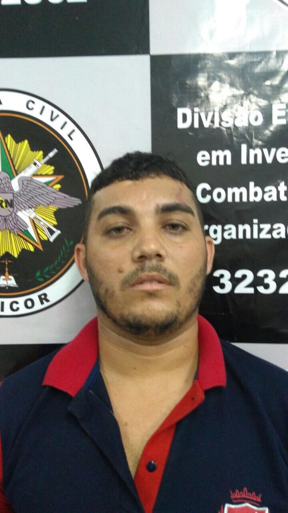 José Miguel de Azevedo Filho foi preso pela Polícia Civil do RN (Foto: Divulgação/Polícia Civil)