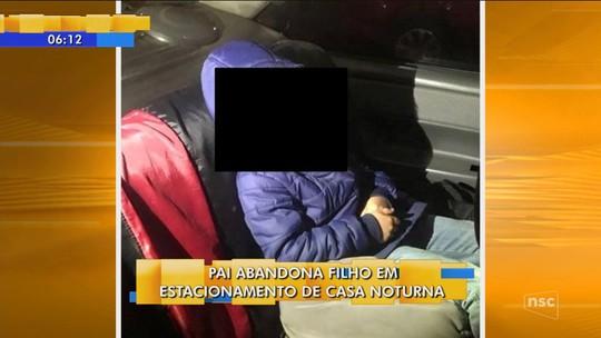 Pai deixa filho de 6 anos trancado em carro e é preso embriagado em casa de shows, diz PM de Pinhalzinho