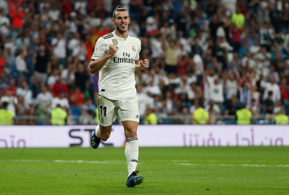 Bale tem maior mobilidade após a saída de Cristiano Ronaldo — Foto: Reuters