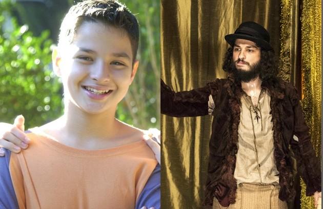 No ar como Hugo de 'Novo Mundo', César Cardadeiro interpretou Pedrinho no 'Sítio do picapau amarelo', de 2001 a 2004 (Foto: Divulgação/TV Globo)