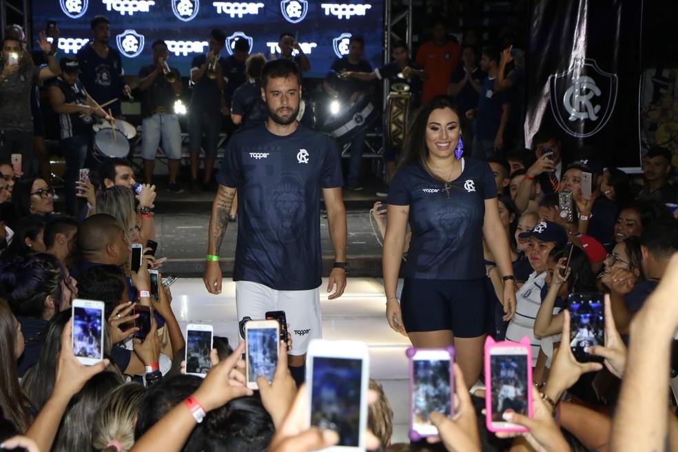 Topper é a atual fornecedora de material esportivo do Remo — Foto: Cristino Martins/O Liberal