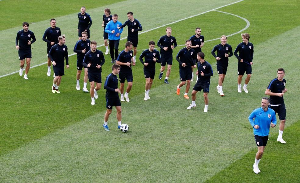 Croácia já está classificada e joga por um empate para garantir a primeira colocação do Grupo D (Foto: Anton Vaganov/Reuters)