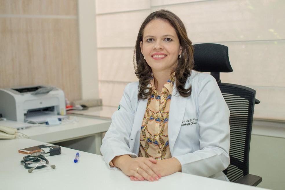 Dra. Letícia França — Foto: Divulgação/Oncomed