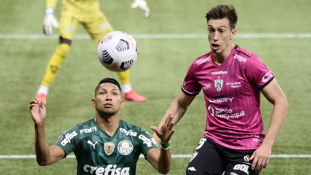 Rony em Palmeiras x Independiente del Valle