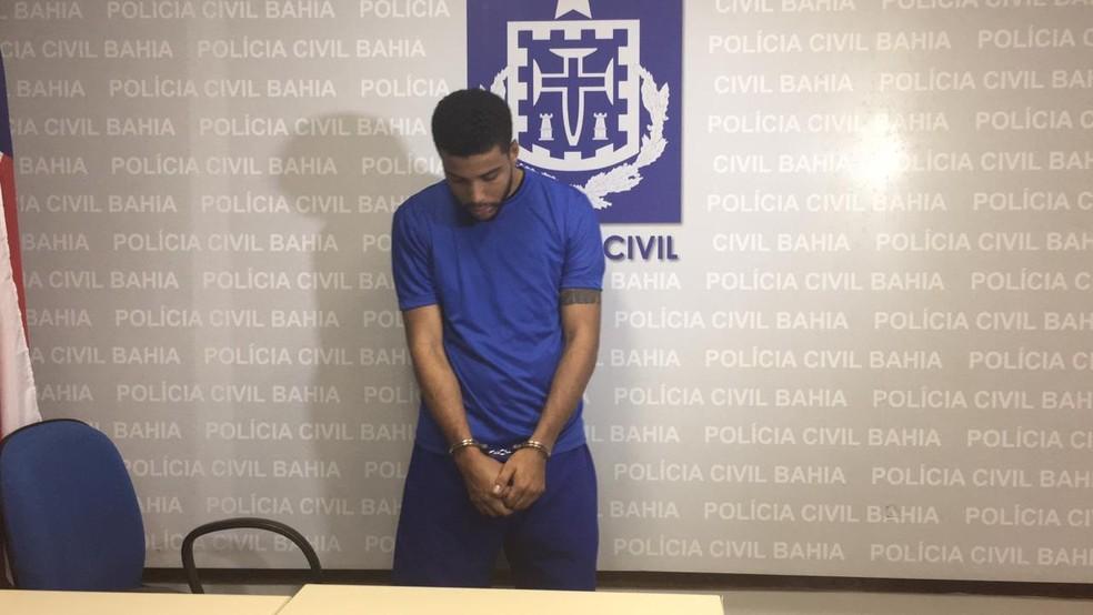 Gabriel Bispo dos Santos é suspeito de matar o assessor Michel de Sá, em Salvador — Foto: Maiana Belo/G1 BA
