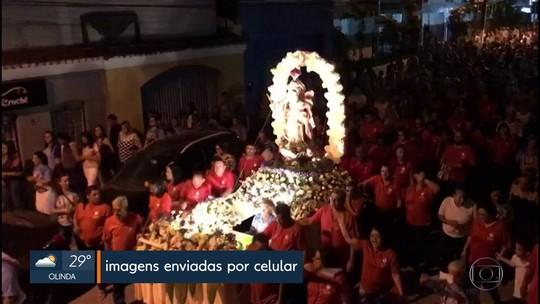 Católicos celebram Nossa Senhora do Rosário em Goiana