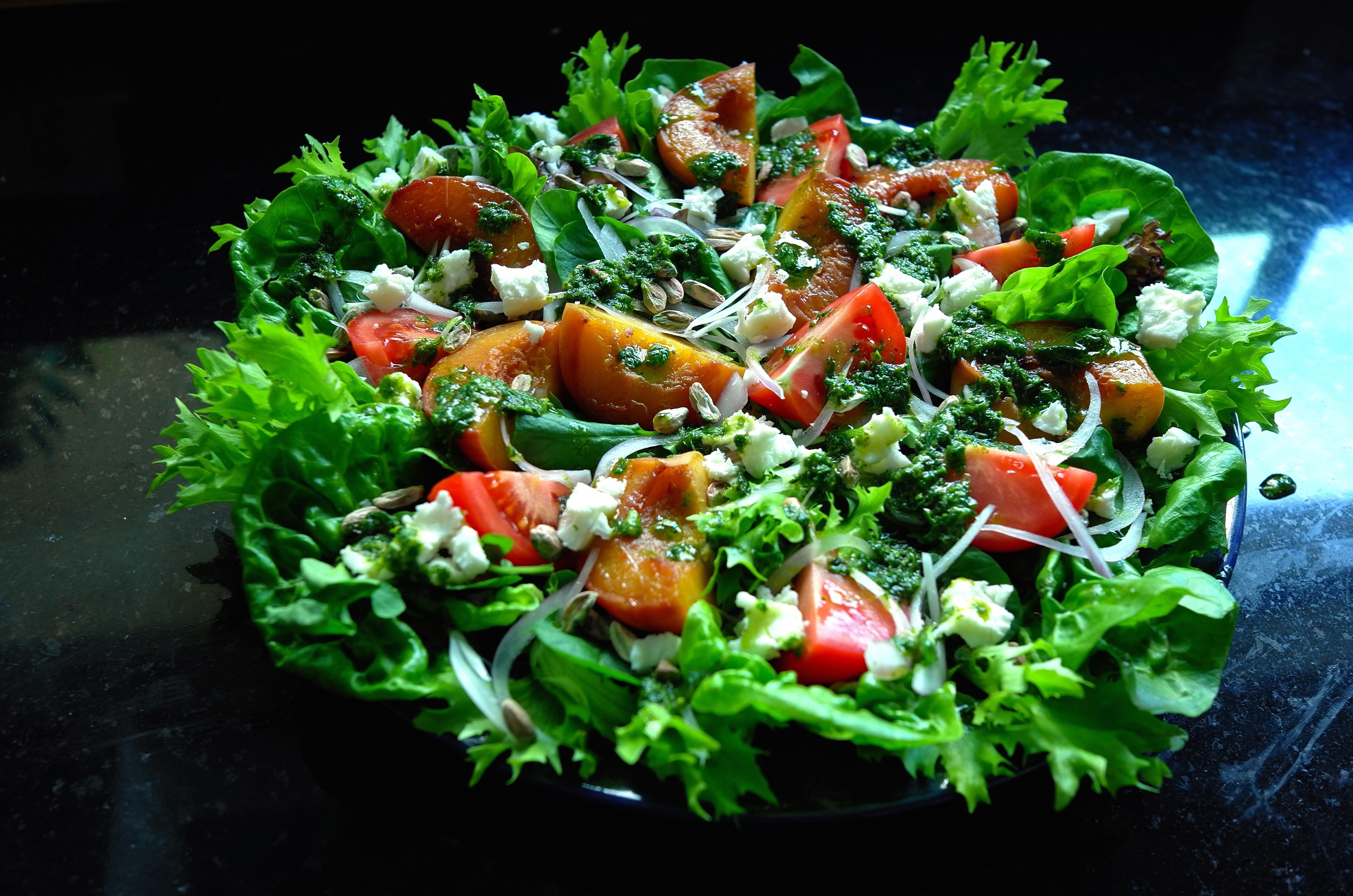 Salada para primavera (Foto: André Lima de Luca)