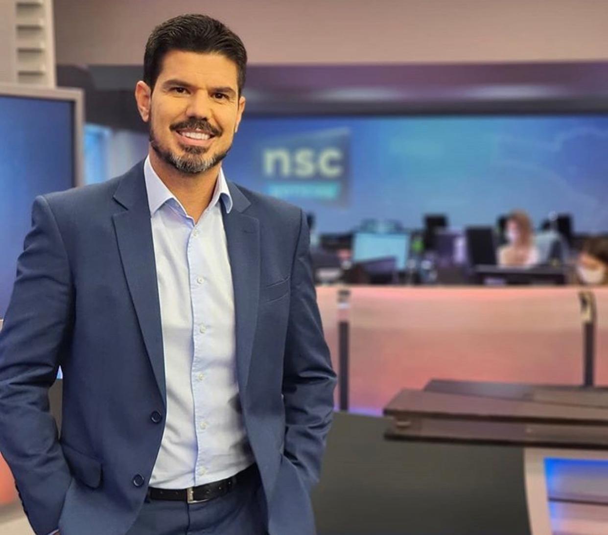 Jornalista Fabian Londero se recupera da Covid-19 em SC
