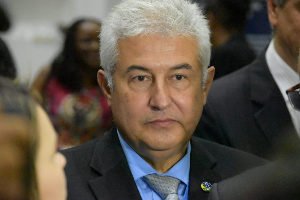 O ministro de ciência e tecnologia, Marcos Pontes, durante visita ao Sirius, em Campinas (SP) — Foto: Fernando Evans/G1