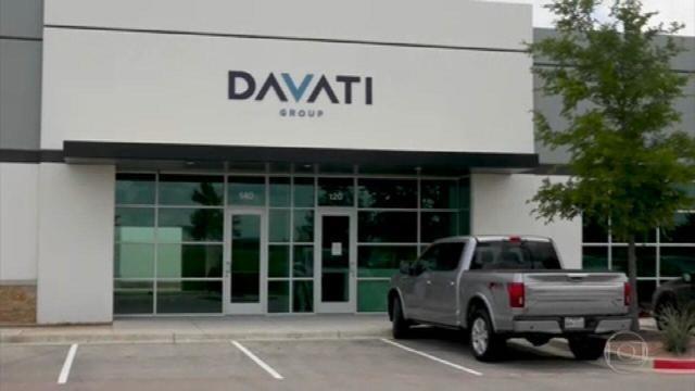 Sede da Davati no Texas, nos Estados Unidos