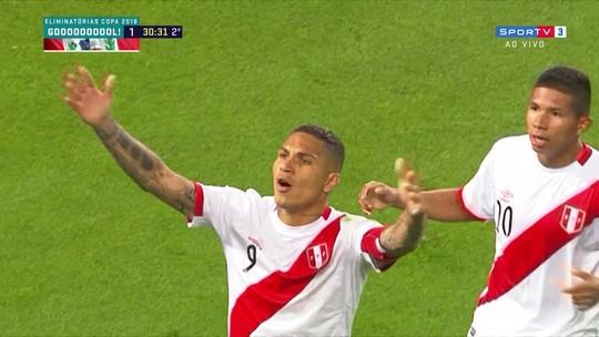 """Guerrero diz que não ouviu que falta era indireta: """"Graças a Deus tocou em Ospina"""""""