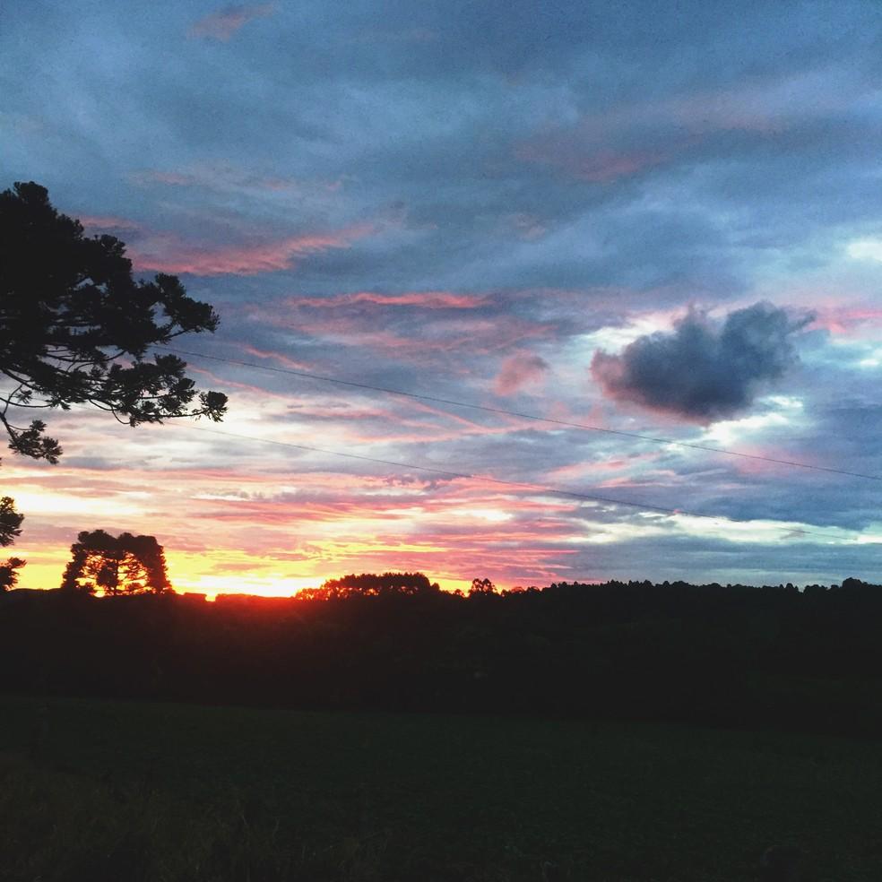 SC deve ter aberturas de sol nesta quinta-feira — Foto: Flávia Terres / G1 SC