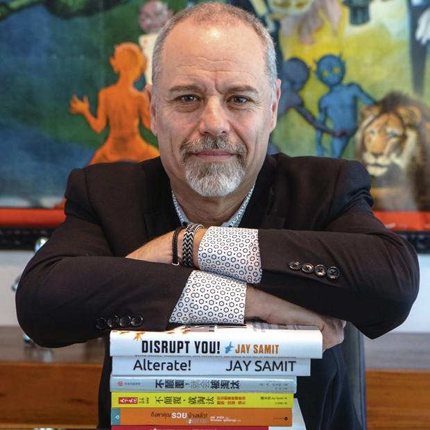 Jay Samit: Brasil pode ter, como a China, um ecossistema inovador de startups (Foto: Divulgação)
