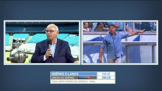 """Presidente do Grêmio: """"Não tomamos a iniciativa de invadir o espaço de ninguém"""""""