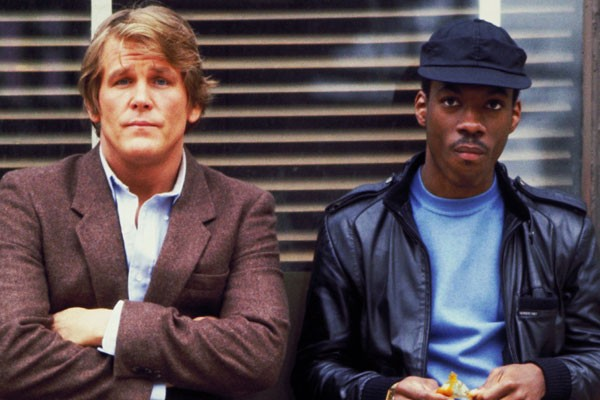 Os atores Nick Nolte e Eddie Murphy em cena de 48 horas (1982) (Foto: Divulgação)