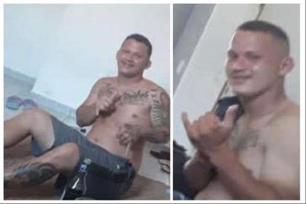 Matheus Lopes Silva e Lucas Lopes Silva foram mortos em confronto com a PM — Foto: Cedida