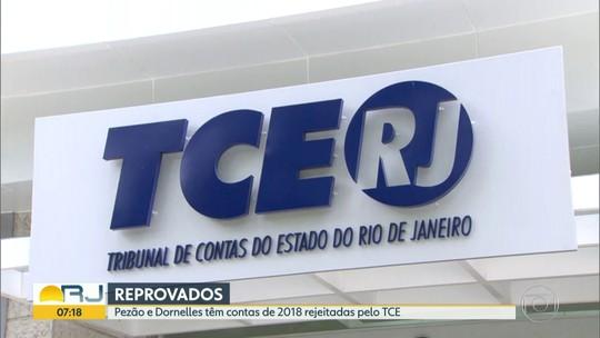 Pezão e Dornelles têm contas de 2018 reprovadas pelo TCE