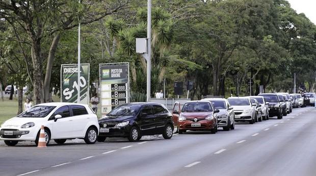 Greve dos caminhoneiros  (Foto:  Fabio Rodrigues Pozzebom/Agência Brasil)