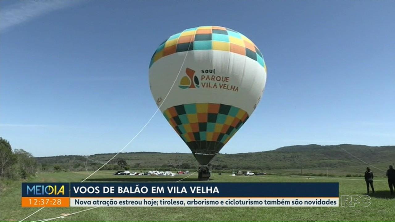 Vôos de balão em Vila Velha