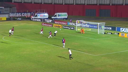 Thiago Rodrigues faz milagres e ajuda no triunfo do Paraná diante do Bragantino