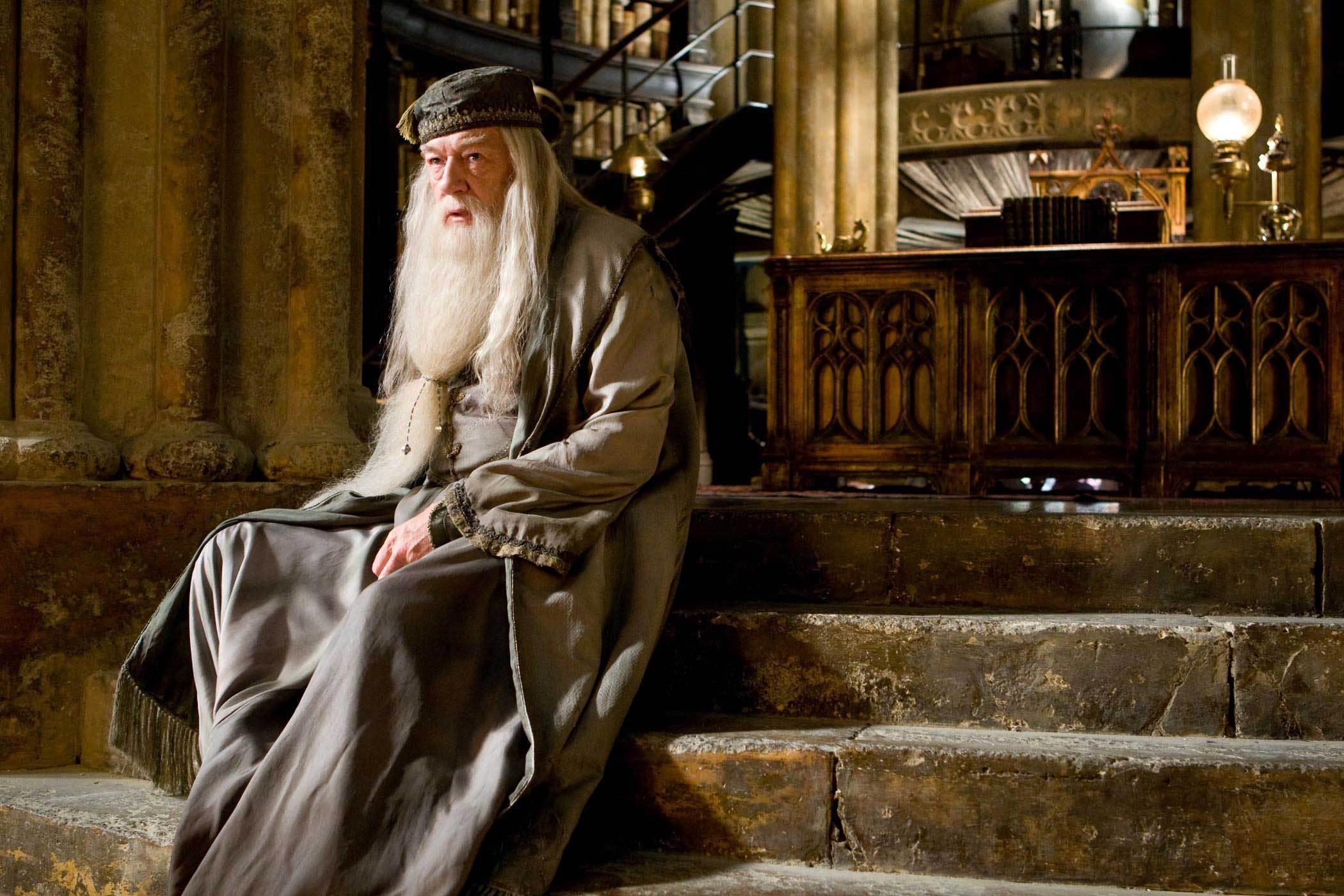 Professor Dumbledore, interpretado por Michael Gambon (Foto: Divulgação)